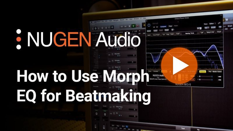 How to Use Morph EQ for Beatmaking