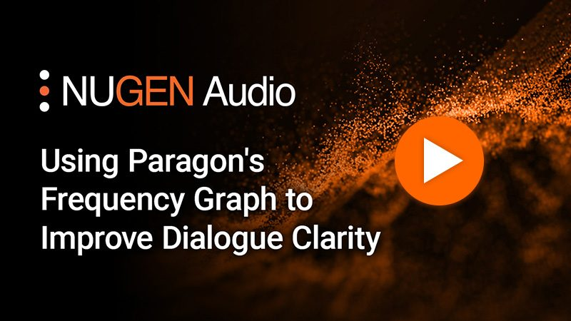 Using Paragon's Frequency Graph to Improve Dialogue Clarity