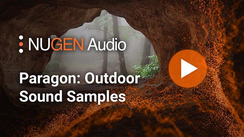 Paragon: Outdoor Sound Samples