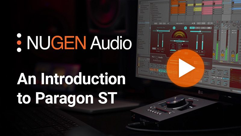 An Introduction to Paragon ST
